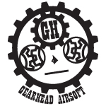 Airsoft BBs Logo Gear Head High Speed BBS