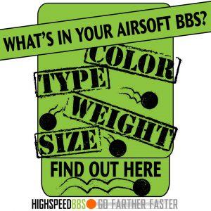 Airsoft BB Comparison At High Speed BBS
