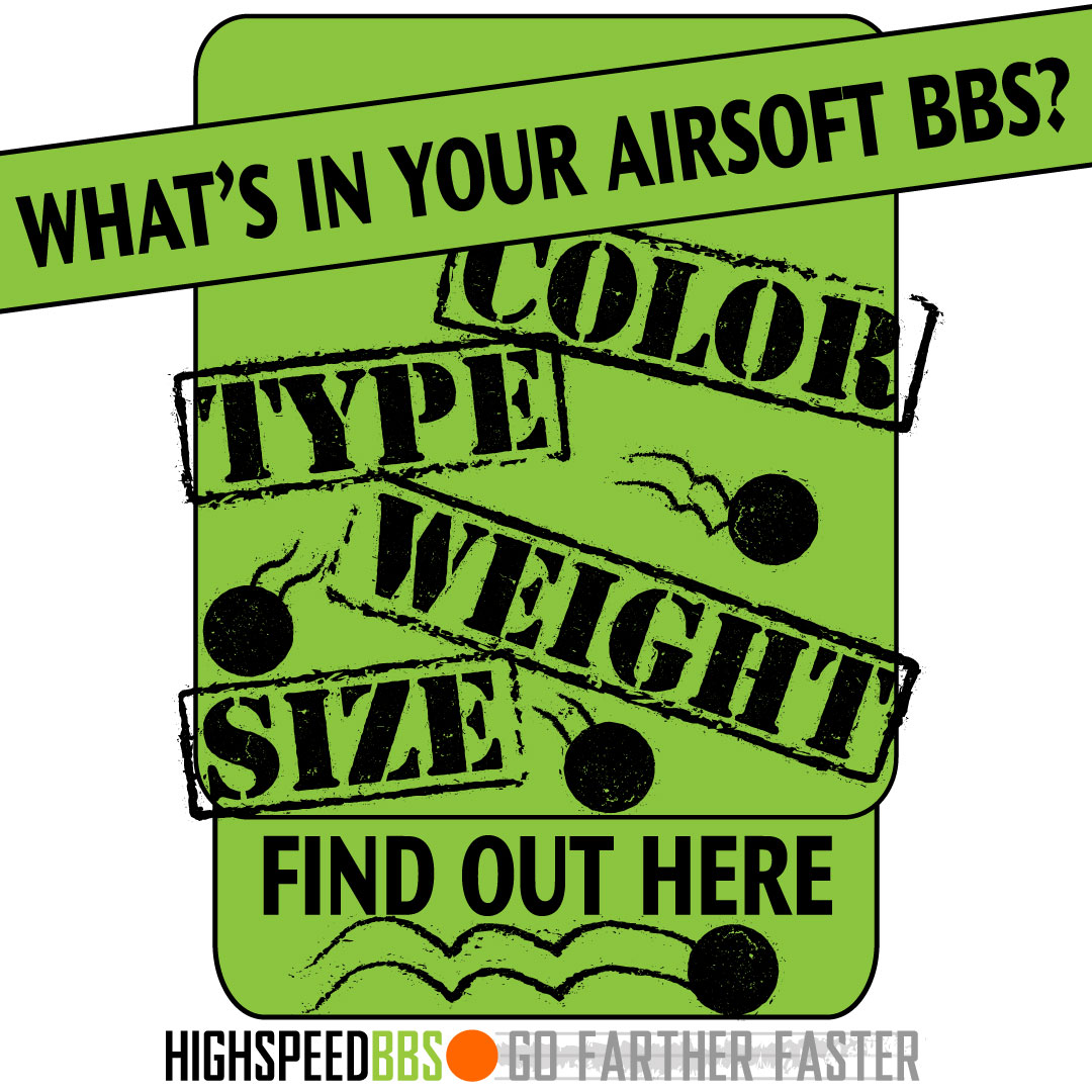 Learn About Airsoft BBs and Airsoft Ammo