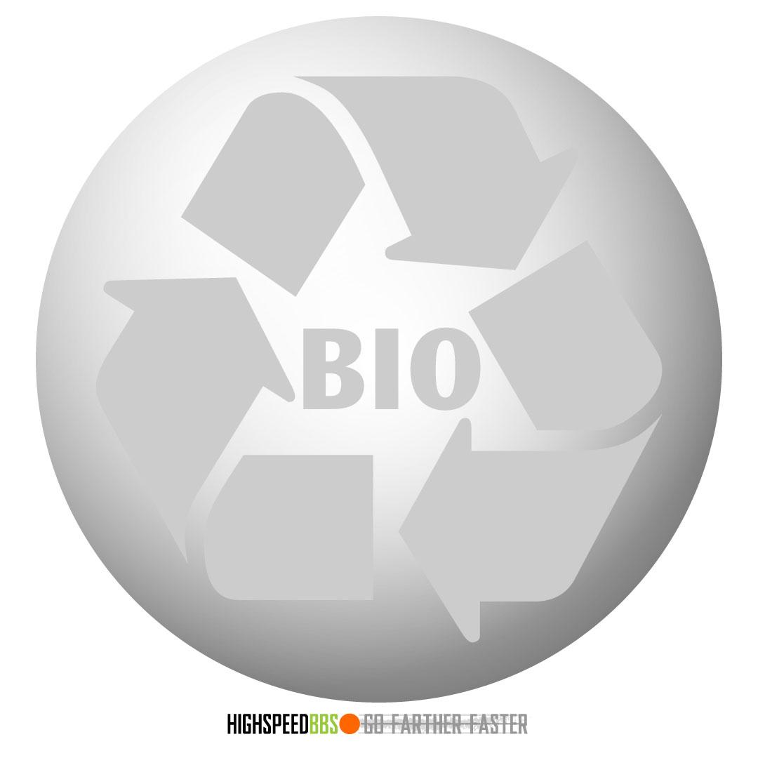 High Speeds BBs are 100% biodegradable