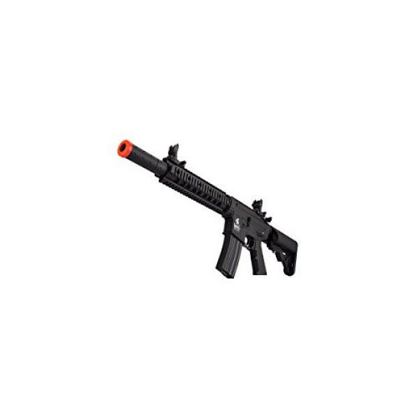 Lancer Tactical Airsoft Rifle 6 Lancer Tactical Low FPS M4 Gen 2 AEG Electric Airsoft Rifle Gun - Black