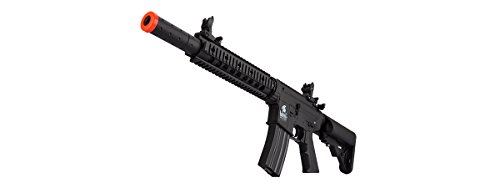 Lancer Tactical  6 Lancer Tactical Low FPS M4 Gen 2 AEG Electric Airsoft Rifle Gun - Black