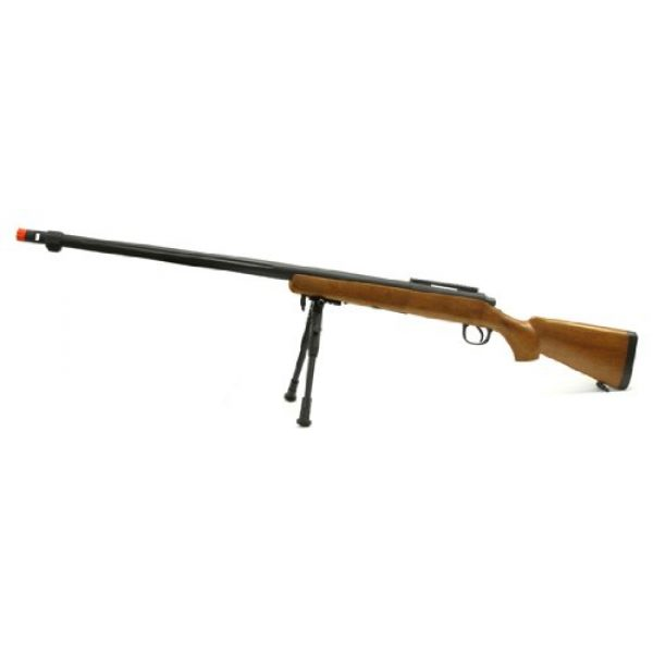 Well Airsoft Rifle 1 spring mb07a bolt action sniper rifle fps-600 bipod airsoft gun wood(Airsoft Gun)