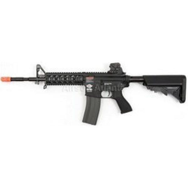 G&G Airsoft Rifle 1 G&G combat machine cm16 raider aeg long - black(Airsoft Gun)