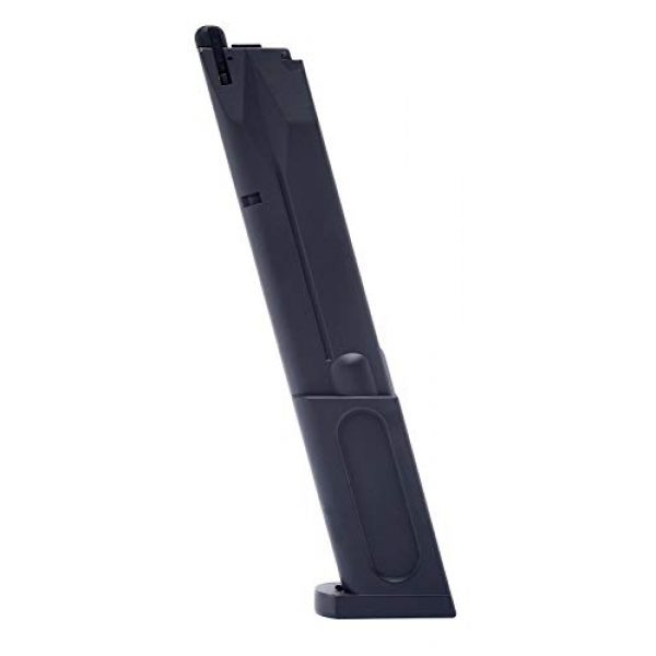 Elite Force Airsoft Gun Magazine 1 Elite Force Beretta M92 A1 Blowback Full Auto 6mm BB Pistol Airsoft Gun Extended Magazine, 40-Round Capacity, Multi, One Size (2274312)