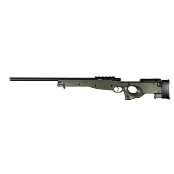 AGM Airsoft Rifle 1 AGM L96 Bolt Action Spring Sniper Airsoft Rifle Gun FPS 465 (Green)