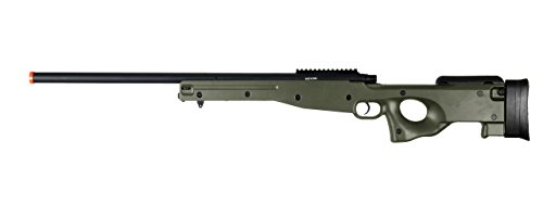 AGM  1 AGM L96 Bolt Action Spring Sniper Airsoft Rifle Gun FPS 465 (Green)
