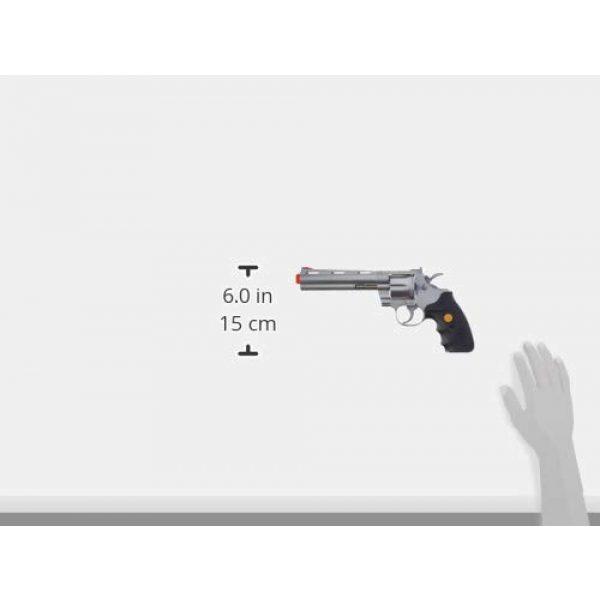 TSD Airsoft Pistol 3 TSD Sports UA938S 6 Inch Spring Powered Airsoft Revolver (Silver)