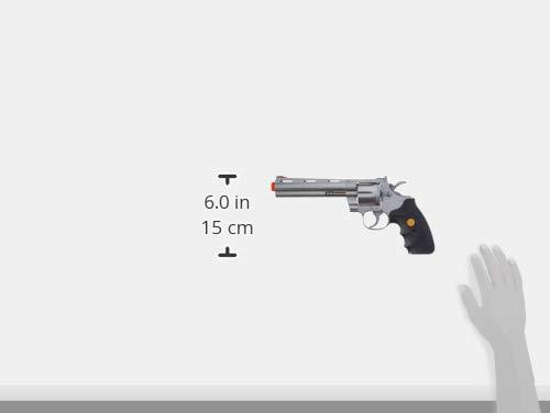 TSD  3 TSD Sports UA938S 6 Inch Spring Powered Airsoft Revolver (Silver)