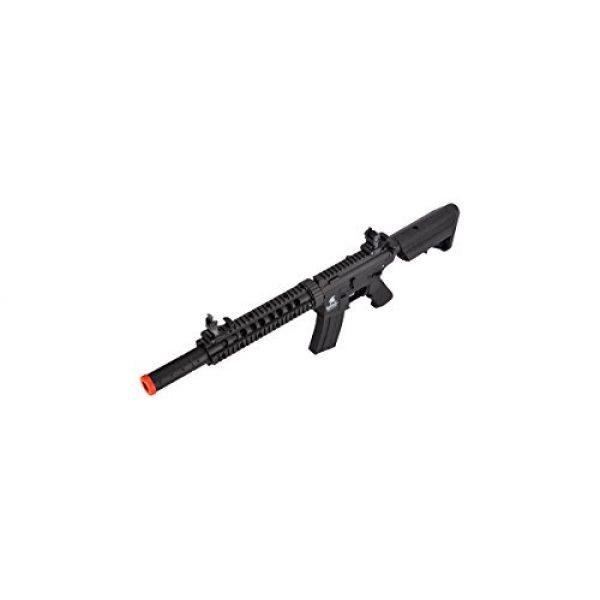 Lancer Tactical Airsoft Rifle 5 Lancer Tactical Low FPS M4 Gen 2 AEG Electric Airsoft Rifle Gun - Black
