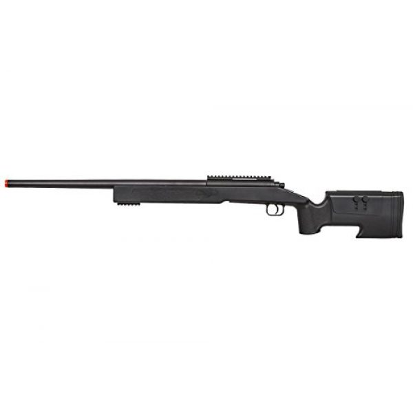 ASG Airsoft Rifle 4 ASG McMillian Sportline M40A3 Bolt Action Spring Sniper Airsoft Rifle (Black)