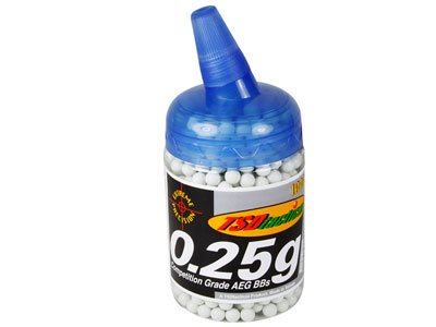 TSD Airsoft BB 1 TSD Competition Grade AEG 6mm plastic airsoft BBs