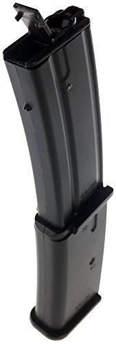 SportPro  3 SportPro Well 145 Round Polymer High Capacity Magazine for AEG MP7 3 Pack Airsoft - Black