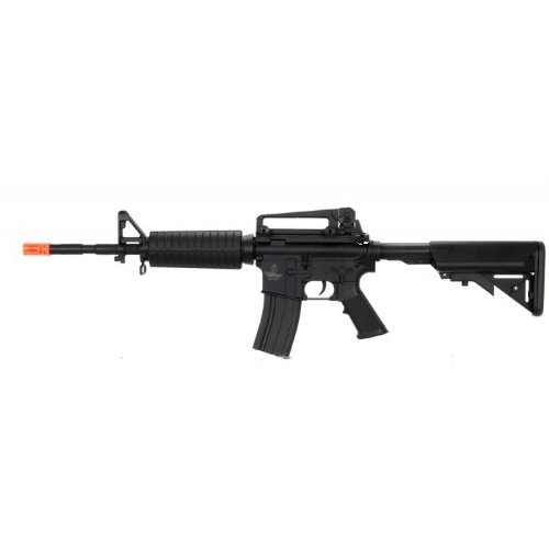 Lancer Tactical Airsoft Rifle 1 Lancer Tactical lt-03b Electric Airsoft Gun fps-400 m4a1 Full & semi auto Full Metal Gearbox Adjustable Stock(Airsoft Gun)