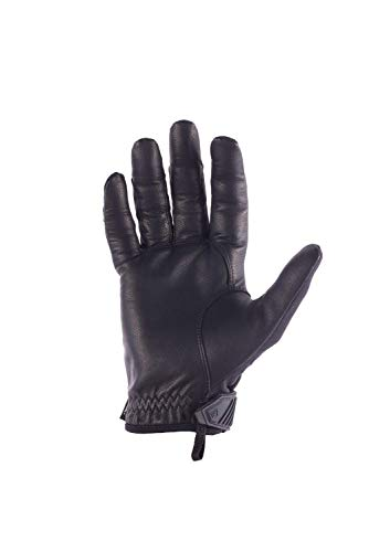 First Tactical Airsoft Glove 2 First Tactical Womens Pro Knuckle Glove | TPR Protective Knuckles with Goatskin Touchscreen Leather