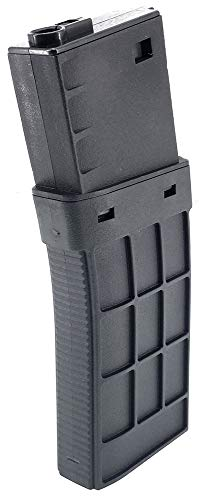 SportPro  1 SportPro CYMA 220 Round Polymer Thermold Waffle Medium Capacity Magazine for AEG M4 M16 Airsoft - Black
