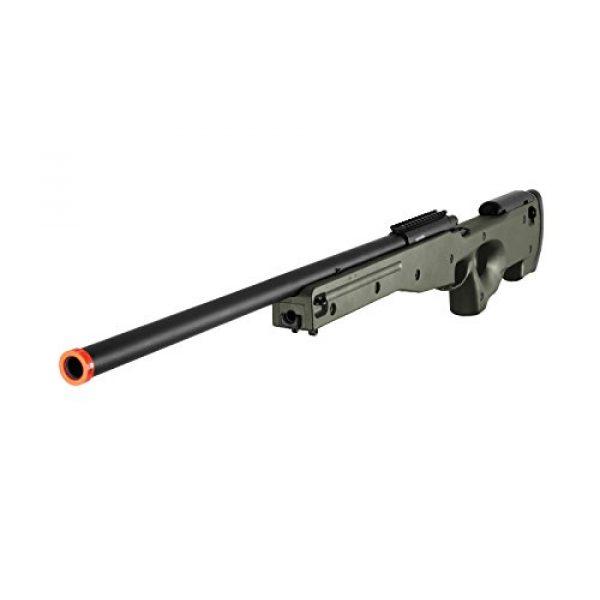 AGM Airsoft Rifle 2 AGM L96 Bolt Action Spring Sniper Airsoft Rifle Gun FPS 465 (Green)