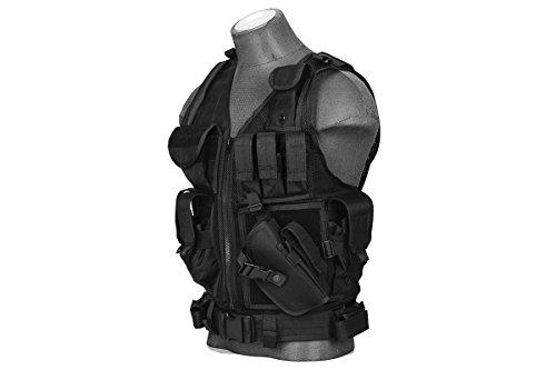 Lancer Tactical Airsoft Tactical Vest 2 Lancer Tactical Cross Draw Tactical Vest
