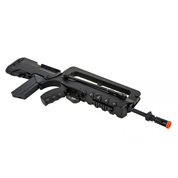 FAMAS Airsoft Rifle 4 Soft Air Famas Foreign Legion Electric Powered Airsoft Rifle with Adjustable Hop-Up, 380-420 FPS