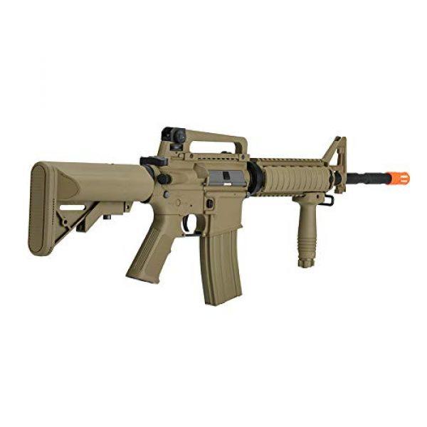 Lancer Tactical Airsoft Rifle 1 Lancer Tactical Gen 2 Upgraded RIS LT-04 AEG Metal Gear Electric Airsoft Gun, Dark Earth