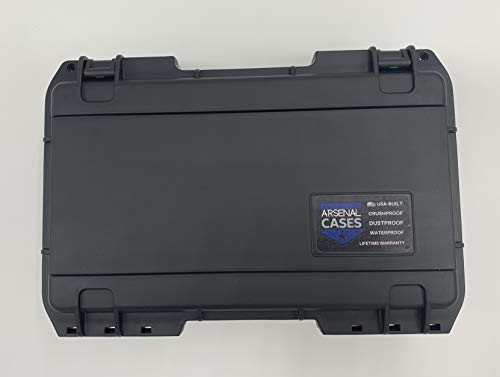Arsenal Cases Airsoft Gun Case 4 Arsenal Cases Glock 19 Case