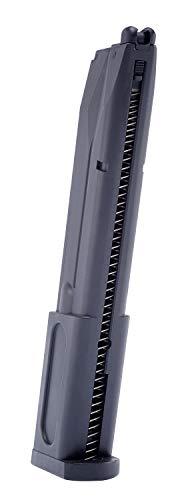 Elite Force Airsoft Gun Magazine 4 Elite Force Beretta M92 A1 Blowback Full Auto 6mm BB Pistol Airsoft Gun Extended Magazine, 40-Round Capacity, Multi, One Size (2274312)