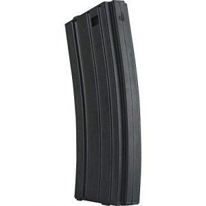 Valken Airsoft Gun Magazine 1 Valken Airsoft M4 Mid-CAP Thermold Magazine, 140rd(5 Pack)-Black