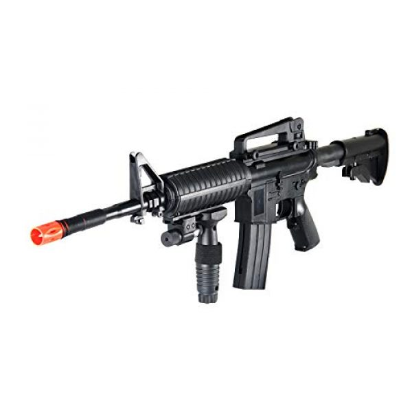 UK Airsoft Rifle 6 UK ARMS P1158CA Spring Airsoft Rifle M4A1 Carbine M4 AR15 AR-15 Assault Rifle