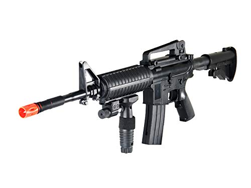 UK  6 UK ARMS P1158CA Spring Airsoft Rifle M4A1 Carbine M4 AR15 AR-15 Assault Rifle