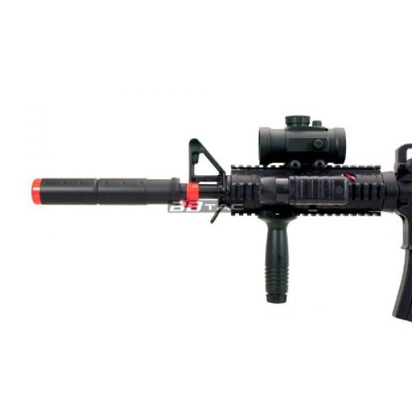BBTac Airsoft Rifle 4 BBTac M83 Full and Semi Automatic Electric Powered Airsoft Gun Full Tactical Accessories Ready to Play Package