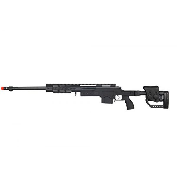 Well Airsoft Rifle 1 Well MB4411G Bolt Action Spring Sniper Rifle (Green)
