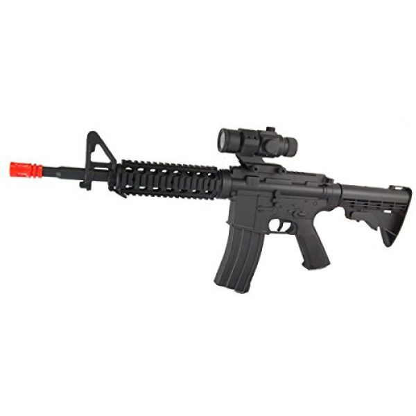 SDN Airsoft Rifle 2 d92 new version electric airsoft gun full auto rechargeable fps-250 upgraded version, comes w/ scope(Airsoft Gun)