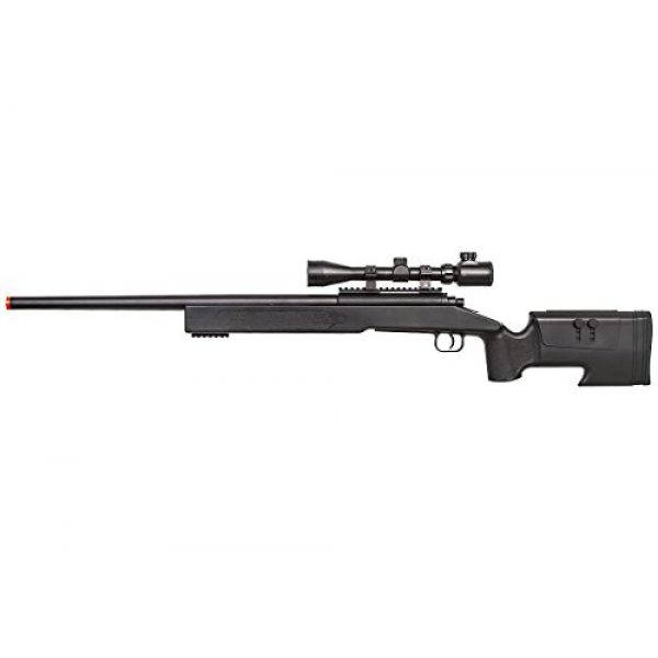 ASG Airsoft Rifle 2 ASG McMillian Sportline M40A3 Bolt Action Spring Sniper Airsoft Rifle (Black)