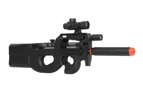 WELL Airsoft Airsoft Rifle 1 fully automatic airsoft belgium p-90 deluxe(Airsoft Gun)