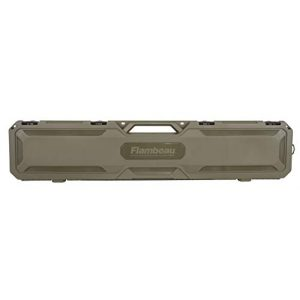 "Flambeau Outdoors Rifle Case 1 Flambeau Outdoors 6464FS Safe Shot 50.5"" Field Gun Case, Portable Firearm Storage Accessory"