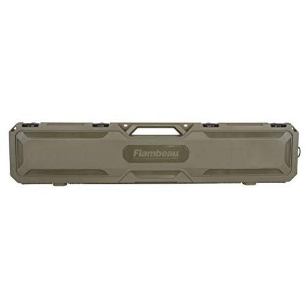 "Flambeau Outdoors Rifle Case 1 Flambeau Outdoors 6464FS Safe Shot 50.5"" Field Gun Case, Portable Firearm Storage Accessory"