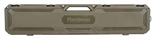 "Flambeau Outdoors Airsoft Gun Case 1 Flambeau Outdoors 6464FS Safe Shot 50.5"" Field Gun Case"