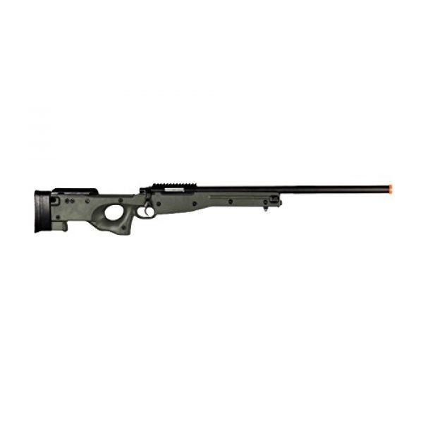 AGM Airsoft Rifle 3 AGM L96 Bolt Action Spring Sniper Airsoft Rifle Gun FPS 465 (Green)