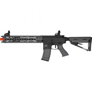 Valken Airsoft Rifle 1 Valken ASL Series M4 Airsoft Rifle AEG 6mm Rifle - TRG - Black/Grey