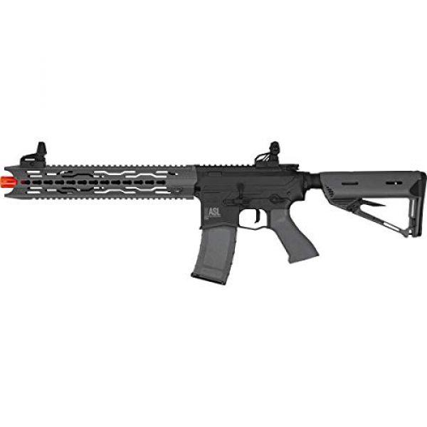 Valken Airsoft Rifle 1 Valken ASL Series M4 Airsoft Rifle AEG 6mm Rifle - TRG - Black/Grey
