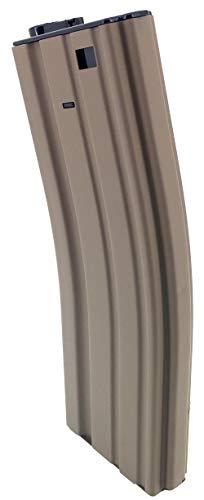 SportPro  4 SportPro Jing Gong 450 Round Metal High Capacity Magazine for AEG M4 M16 3 Pack Airsoft Tan