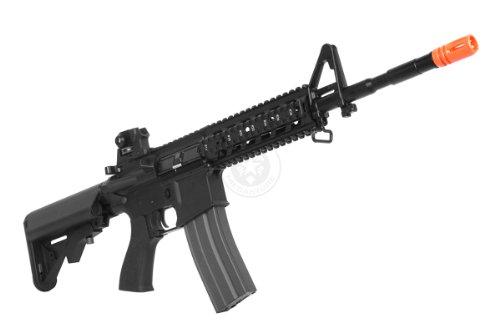 G&G  2 G&G airsoft combat machine m4 raider high-performance full metal gearbox aeg rifle w/ integrated ras and crane stock(Airsoft Gun)