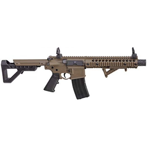 DPMS Air Rifle 1 DPMS Full Auto SBR CO2-Powered BB Air Rifle with Dual Action Capability