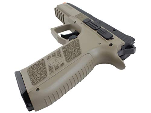 ASG Airsoft Pistol 4 ASG CZ P-09 Gas Powered Airsoft Pistol with Outer Barrel Threading