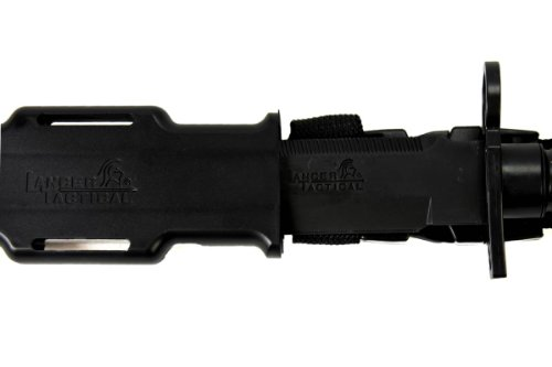 MetalTac Airsoft Tool 2 MetalTac Airsoft Rubber Combat Bayonet Knife with Scabbard/Sheath