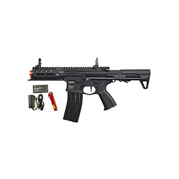 G&G Airsoft Rifle 1 G&G ARP 556 CQB AEG Airsoft Gun Battery & Charger Combo w/ MOSFET