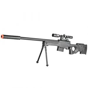 BBTac Airsoft Rifle 3 BBTac Airsoft Sniper Rifle Gun - Powerful Spring Loaded Easy to use