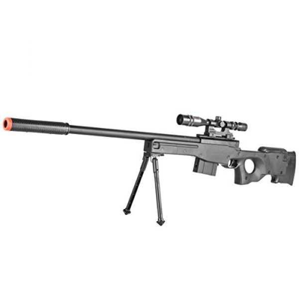 BBTac Airsoft Rifle 5 BBTac Airsoft Sniper Rifle Gun - Powerful Spring Loaded Easy to use, Great for Starter Pack Game Play