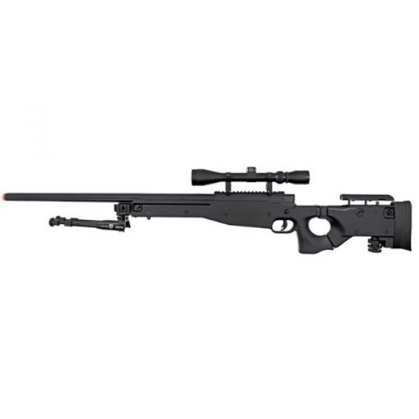 Well Airsoft Rifle 2 Well l96 spring sniper airsoft rifle w/ bi-pod and scope(Airsoft Gun)