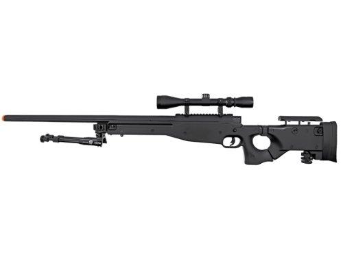 Well  2 Well l96 spring sniper airsoft rifle w/ bi-pod and scope(Airsoft Gun)